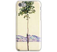 Egon Schiele -Little Tree  iPhone Case/Skin
