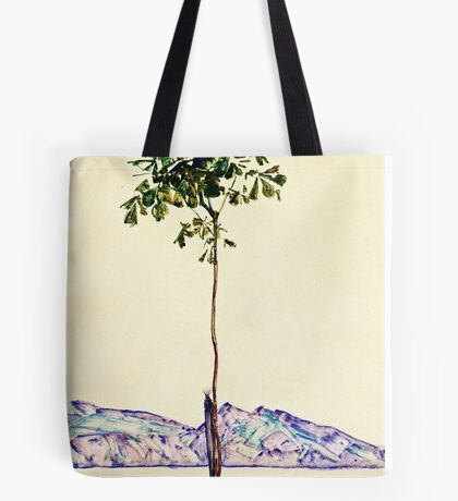 Egon Schiele -Little Tree  Tote Bag