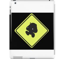 Goomba crossing iPad Case/Skin
