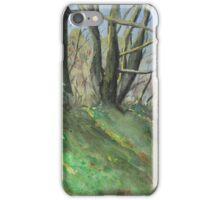 Derbyshire Woodland iPhone Case/Skin