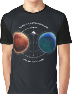 Space-Age Mariner: Mars Graphic T-Shirt