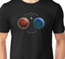 Space-Age Mariner: Mars Unisex T-Shirt