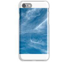 Blue Sky White Cloud.  iPhone Case/Skin