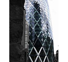 30 St Mary Axe (The Gherkin) Photographic Print