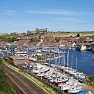 Whitby Marina by John (Mike)  Dobson