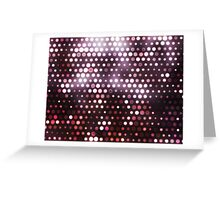 Dots, Pink (Wallpaper, Background) Greeting Card