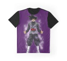 Goku Black Powering up Graphic T-Shirt