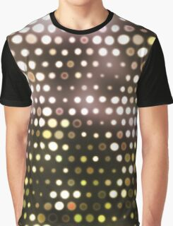 Dots, Yellow (Wallpaper, Background) Graphic T-Shirt