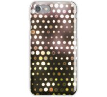 Dots, Yellow (Wallpaper, Background) iPhone Case/Skin