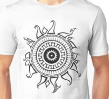 graphic design showing the sun Unisex T-Shirt