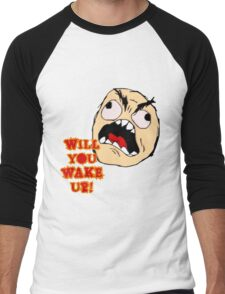 Will You Wake Up from Hells Kitchen Men's Baseball ¾ T-Shirt