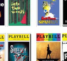 musical theatre  Sticker