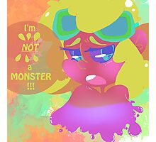 Cute little Monster Photographic Print