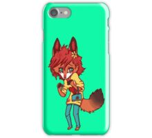 Shy Fox iPhone Case/Skin