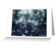 Dots, Blue (Wallpaper, Background) Greeting Card