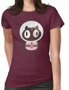 Cookie Cat! Womens Fitted T-Shirt
