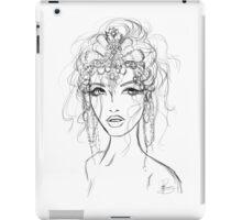 A mermaid's crown  iPad Case/Skin