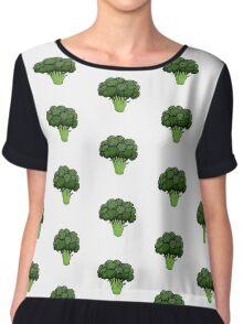 Broccoli  Chiffon Top