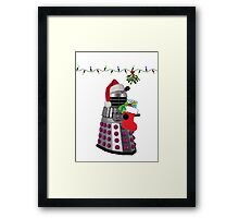 Ding dong  - Christmas calling Framed Print