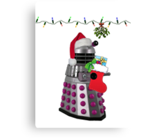 Ding Dong Dalek Canvas Print