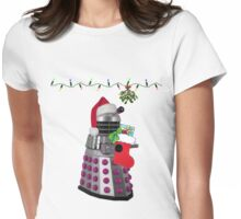 Ding dong  - Christmas calling Womens Fitted T-Shirt