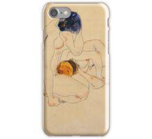 Egon Schiele - Two Friends 1912 iPhone Case/Skin
