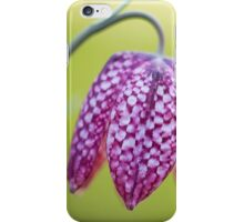 Snake's Head Fritillary iPhone Case/Skin