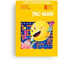 Pac-Man Atari Canvas Print
