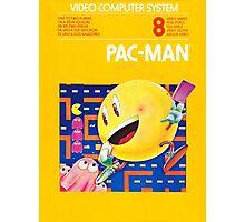 Pac-Man Atari Photographic Print