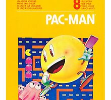 Pac-Man Atari by mitchandcozy