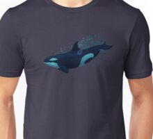 Lost in Serenity ~ Orca ~ Killer Whale Unisex T-Shirt