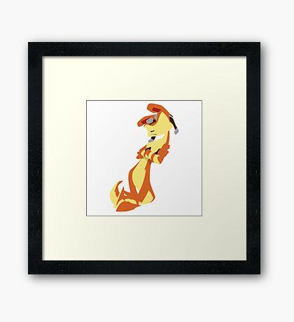 Jak and Daxter-Daxter(No eyes variant) Framed Print