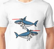Sharks With Friggin' Laser Beams Attached to Their Heads Unisex T-Shirt