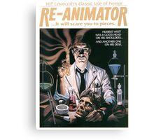 Re-Animator Tshirt! Canvas Print
