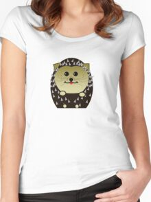 Spiky bits Women's Fitted Scoop T-Shirt