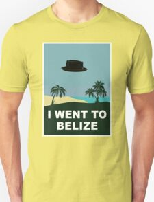 I WENT TO BELIZE (X-Files / Breaking Bad) T-Shirt