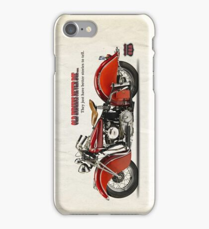 Old Indians Never Die iPhone Case/Skin