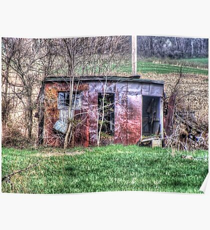 Rusty Shed Poster