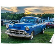 Chevy Sunset Poster