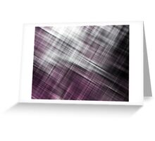 Cross Blur, Pink (Texture, Background) Greeting Card