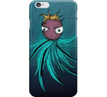 Cute angry creature iPhone Case/Skin