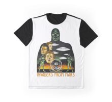 Invaders From Mars Shirt Graphic T-Shirt