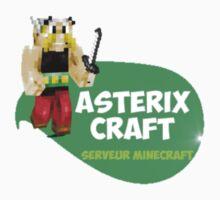 AstérixCraft, le plus gaulois des serveurs minecraft ! Baby Tee