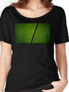 Lines of Leaf Spores Women's Relaxed Fit T-Shirt