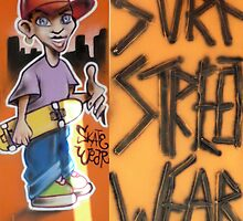SK8 Boy street wear by Woodie