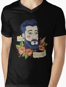 Old School Jon Bellion Mens V-Neck T-Shirt