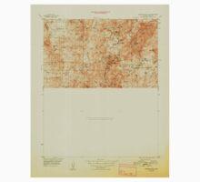 USGS TOPO Map Arizona AZ Crown King 315220 1948 63360 Kids Tee