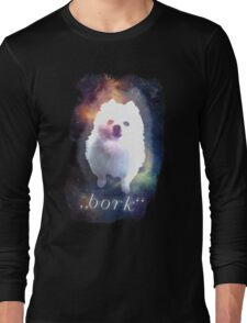 Gabe the Dog - bork Long Sleeve T-Shirt
