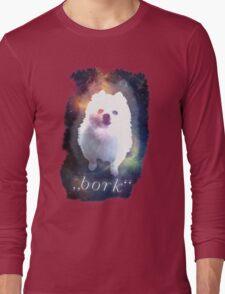 Gabe the Dog - bork Long Sleeve T-Shirt