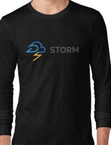 apache storm hadoop logo Long Sleeve T-Shirt